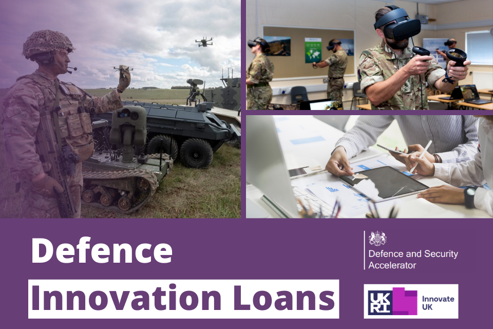 Defence and Security Accelerator Defence Innovation Loans Webinar – 3 August 2021